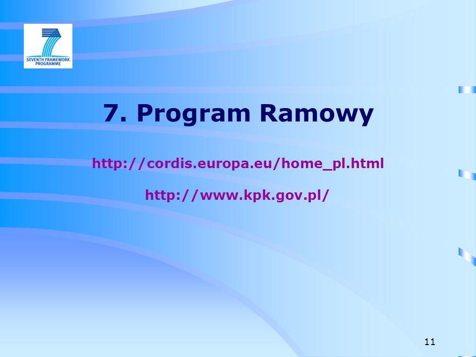 Kształcenie początkowe naukowców (ITN) Współpraca przemysłu z nauką (IAPP) Europejskie stypendium wyjazdowe (IEF) Europejski grant reintegracyjny (ERG) Międzynarodowe stypendium wyjazdowe (IOF) Międzynarodowy grant reintegracyjny (IRG) Program szczegółowy LUDZIE 12