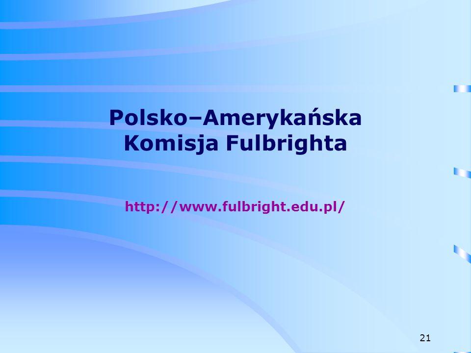 Stypendia na badania naukowe w USA dla polskich pracowników naukowo-dydaktycznych przed doktoratem, bądź słuchaczy studiów doktoranckich w polskich uczelniach.