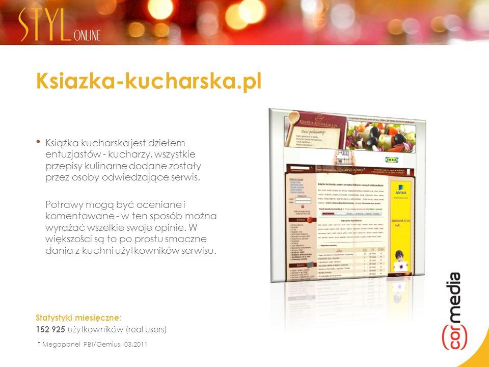 Ksiazka-kucharska.pl Książka kucharska jest dziełem entuzjastów - kucharzy, wszystkie przepisy kulinarne dodane zostały przez osoby odwiedzające serwi