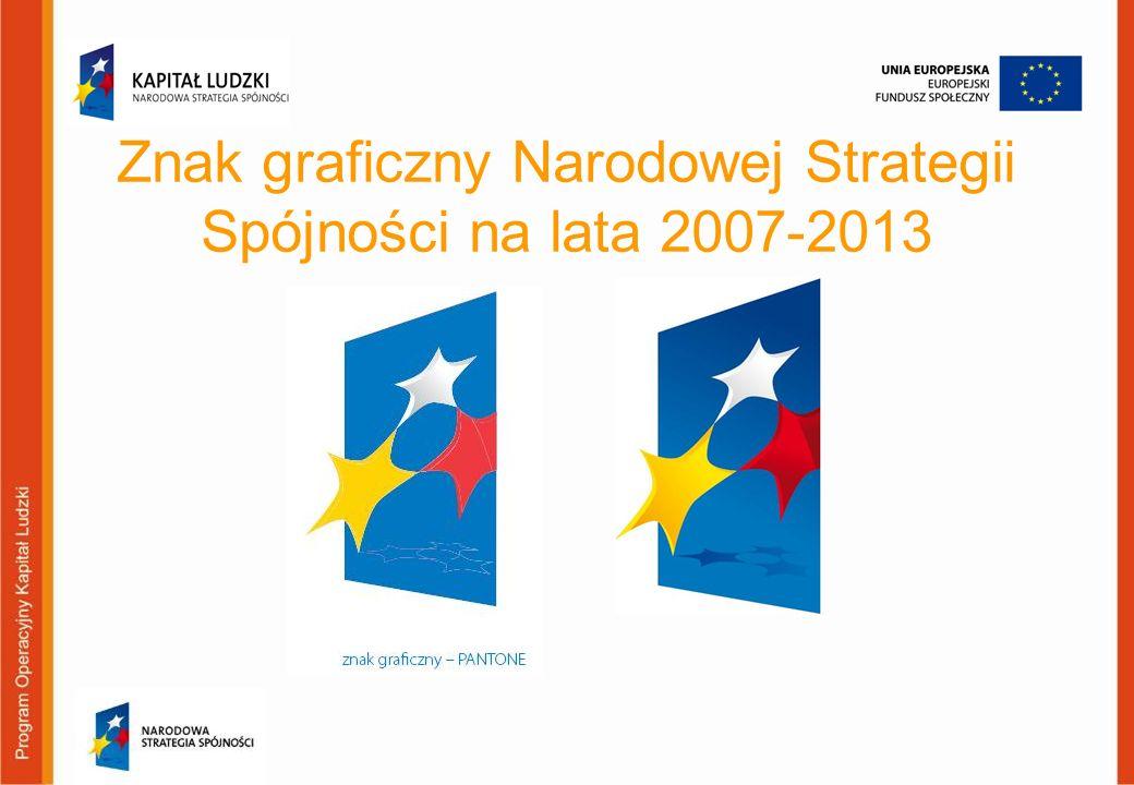 Znak graficzny Narodowej Strategii Spójności na lata 2007-2013