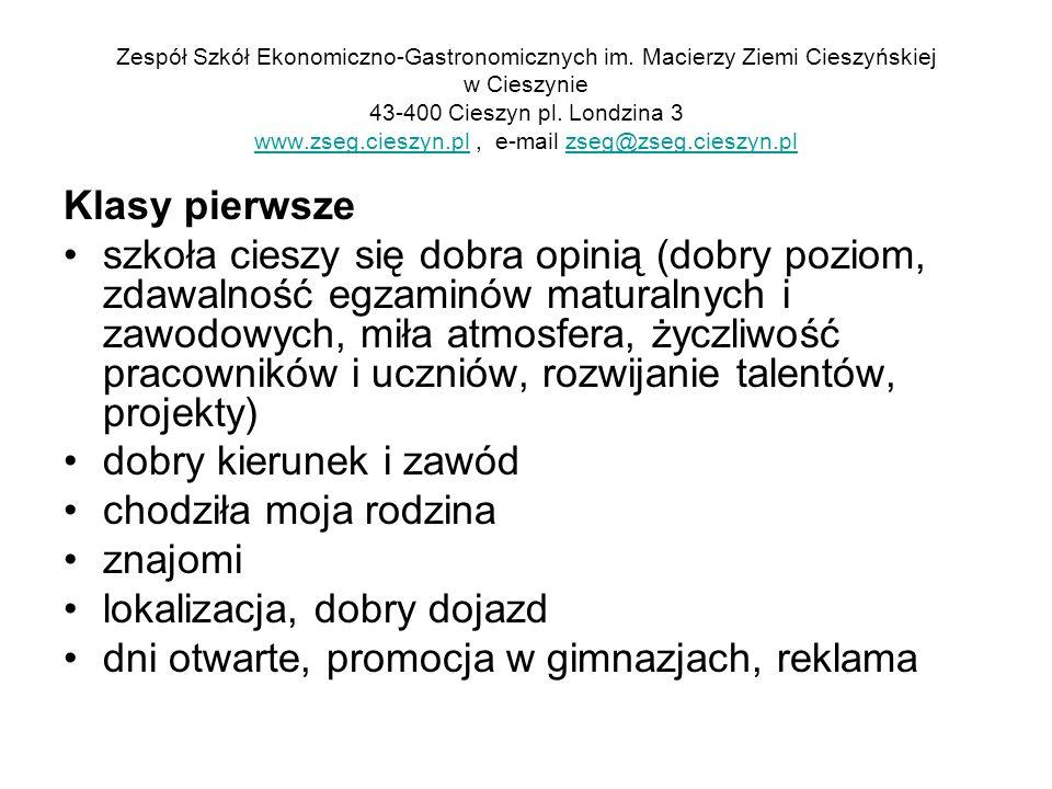 Zespół Szkół Ekonomiczno-Gastronomicznych im.