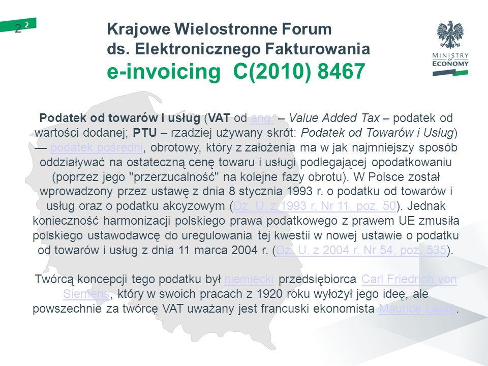 3 3 Krajowe Wielostronne Forum ds.