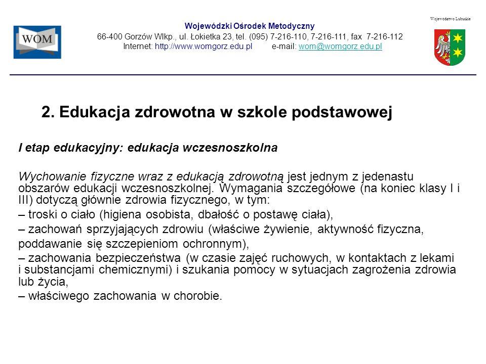 Wojewódzki Ośrodek Metodyczny 66-400 Gorzów Wlkp., ul.