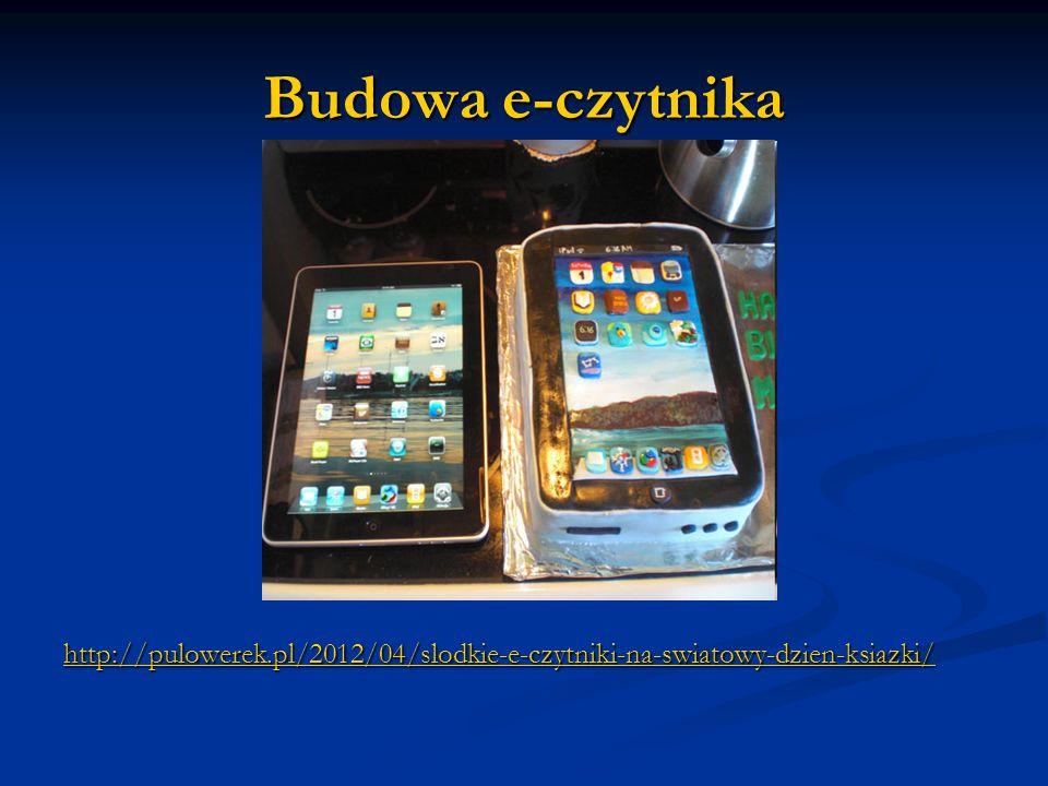 Budowa e-czytnika http://pulowerek.pl/2012/04/slodkie-e-czytniki-na-swiatowy-dzien-ksiazki/