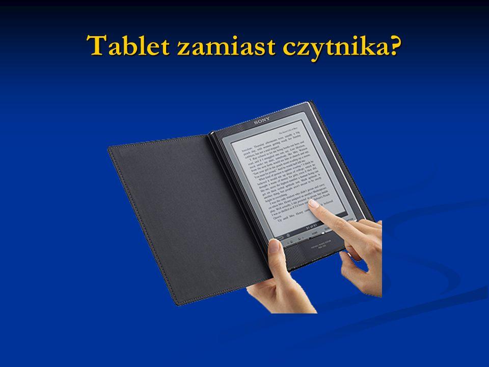 Tablet zamiast czytnika?