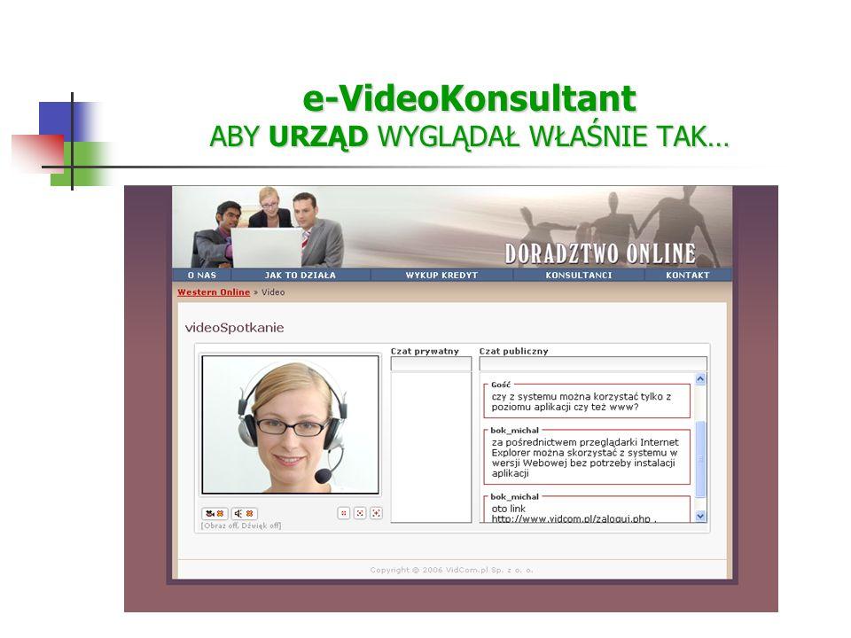 e-VideoKonsultant ABY URZĄD WYGLĄDAŁ WŁAŚNIE TAK…