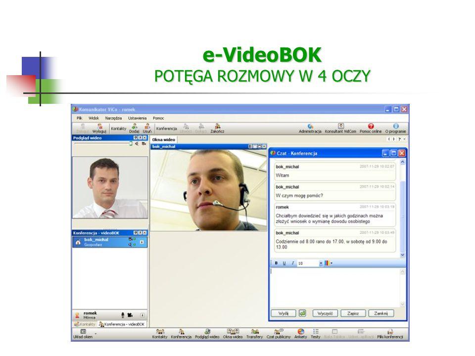 e-VideoBOK POTĘGA ROZMOWY W 4 OCZY