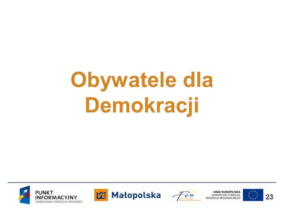 Obywatele dla Demokracji 23