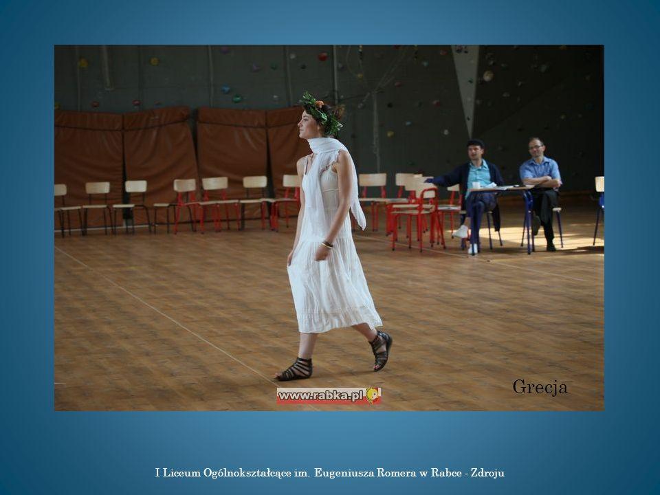 I Liceum Ogólnokształcące im. Eugeniusza Romera w Rabce - Zdroju Grecja