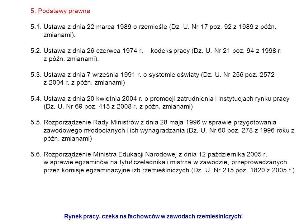 5.Podstawy prawne 5.7.
