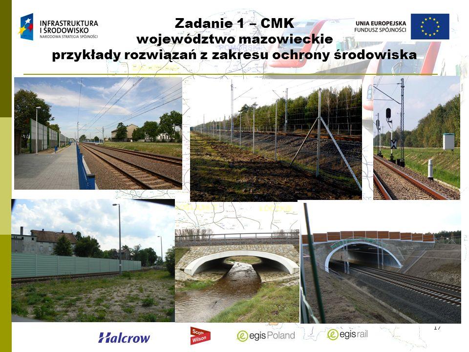 17 Zadanie 1 – CMK województwo mazowieckie przykłady rozwiązań z zakresu ochrony środowiska