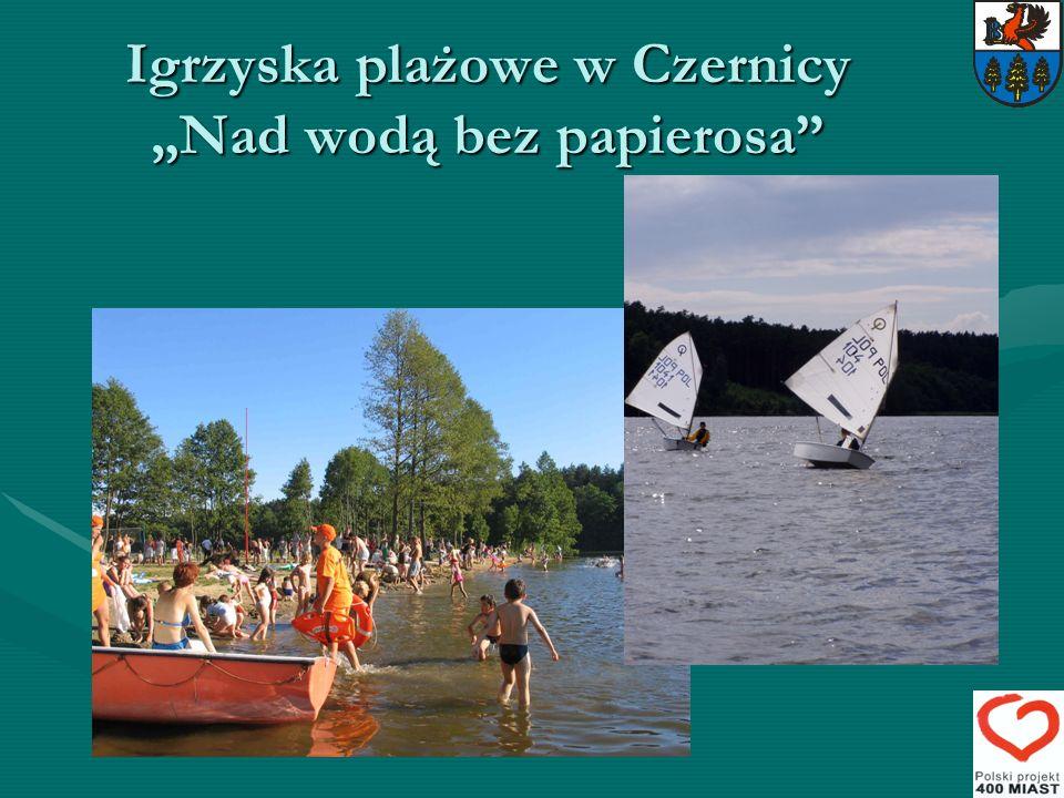 Igrzyska plażowe w Czernicy Nad wodą bez papierosa