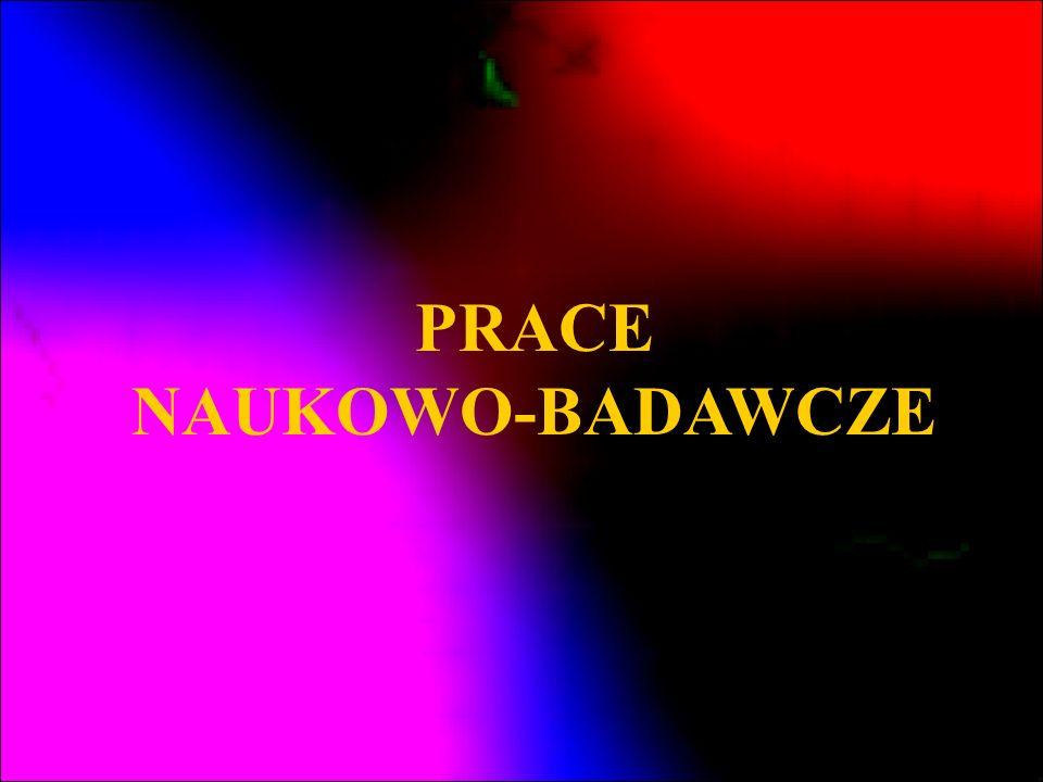 PRACE NAUKOWO-BADAWCZE