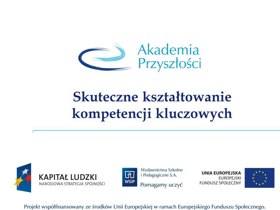 Opis Projektu e-Akademia Przyszłości to ponadregionalny program rozwijania kompetencji kluczowych ze szczególnym uwzględnieniem nauk matematyczno-przyrodniczych, technologii informacyjno- komunikacyjnych (ICT), języków obcych i przedsiębiorczości.