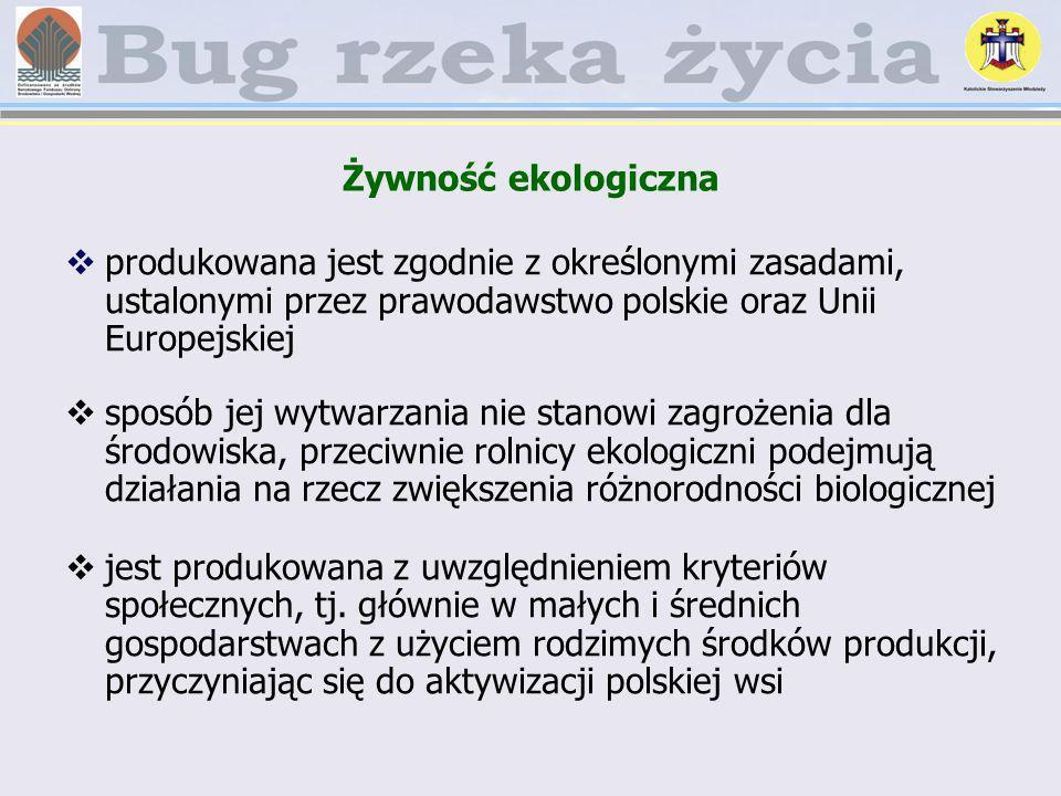 Żywność ekologiczna produkowana jest zgodnie z określonymi zasadami, ustalonymi przez prawodawstwo polskie oraz Unii Europejskiej sposób jej wytwarzan