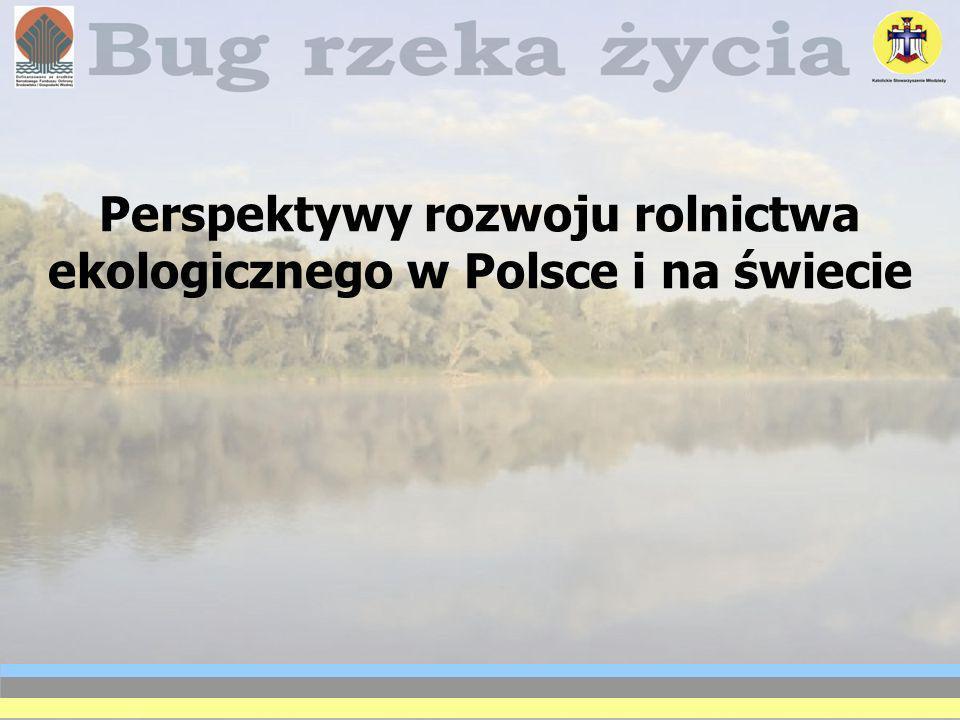 Perspektywy rozwoju rolnictwa ekologicznego w Polsce i na świecie