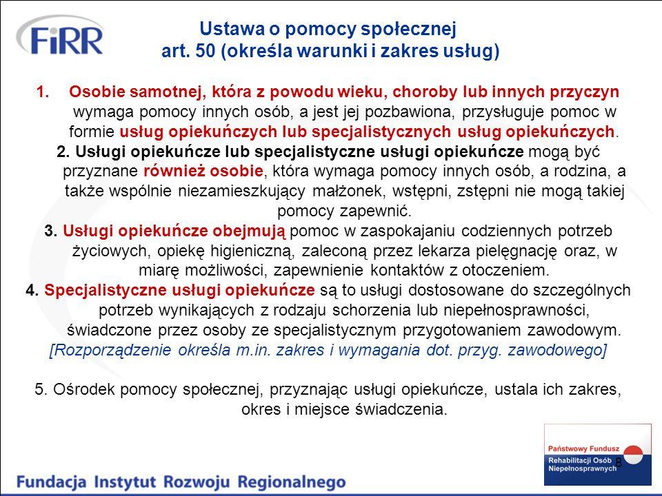 9 ROZPORZĄDZENIE MINISTRA POLITYKI SPOŁECZNEJ z dnia 22 września 2005 r.