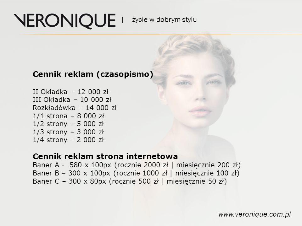 | życie w dobrym stylu www.veronique.com.pl Kontakt GRAPHI PLUS ul.