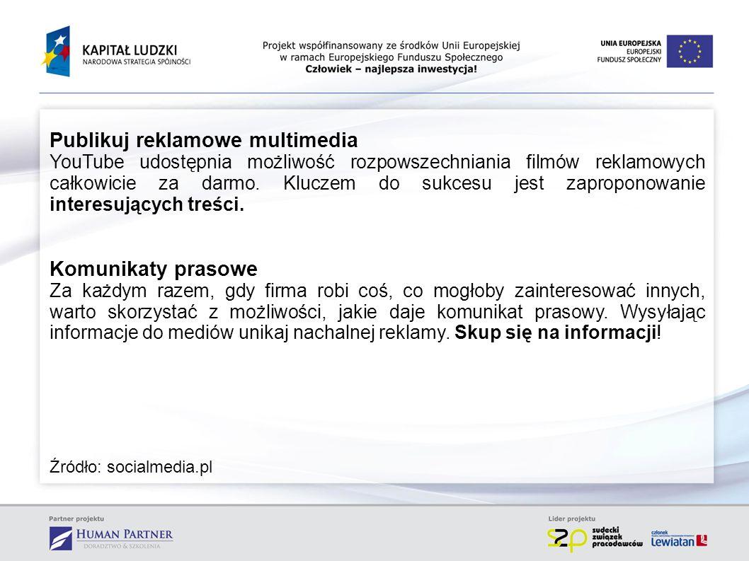 Employer branding w social media W Polsce 80% pracodawców korzysta z portali społecznościowych, jako narzędzi wspierających procesy rekrutacyjne oraz budowania wizerunku pracodawcy.