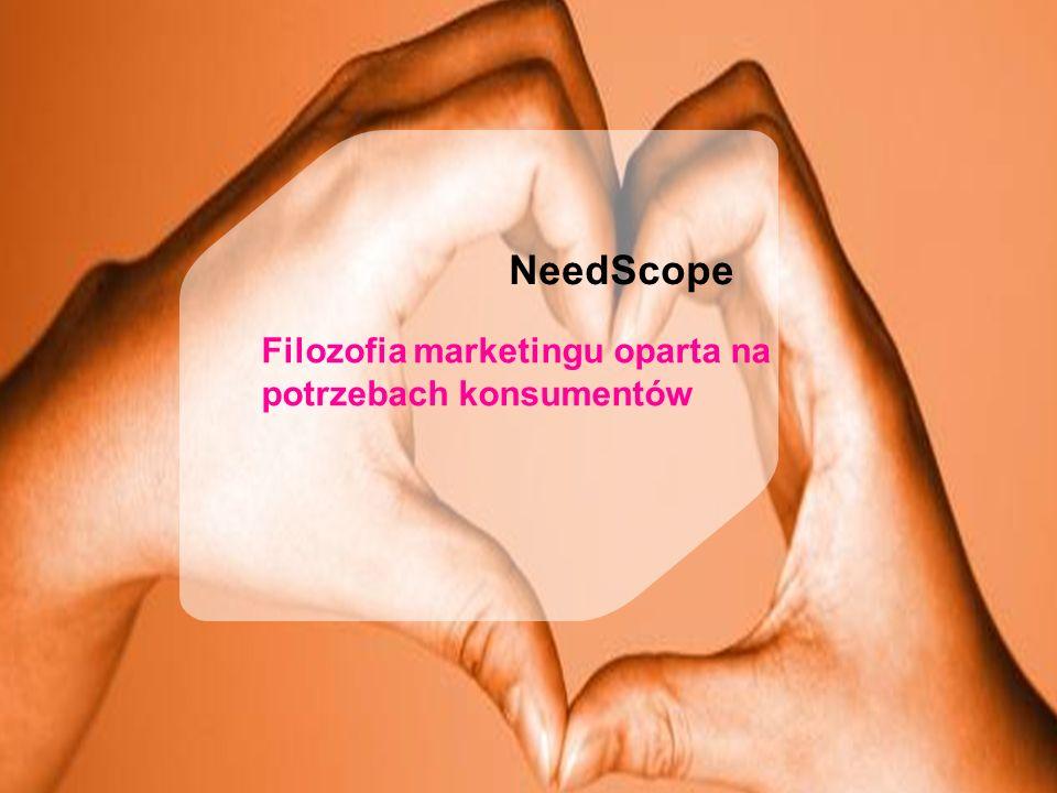4 NeedScope Filozofia marketingu oparta na potrzebach konsumentów