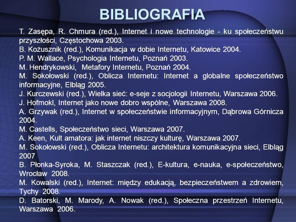 BIBLIOGRAFIA T. Zasępa, R.