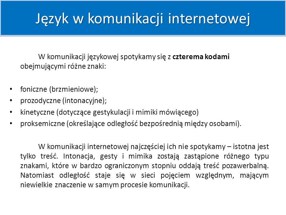 Internauci tworzą specyficzny język – socjolekt Internetu.