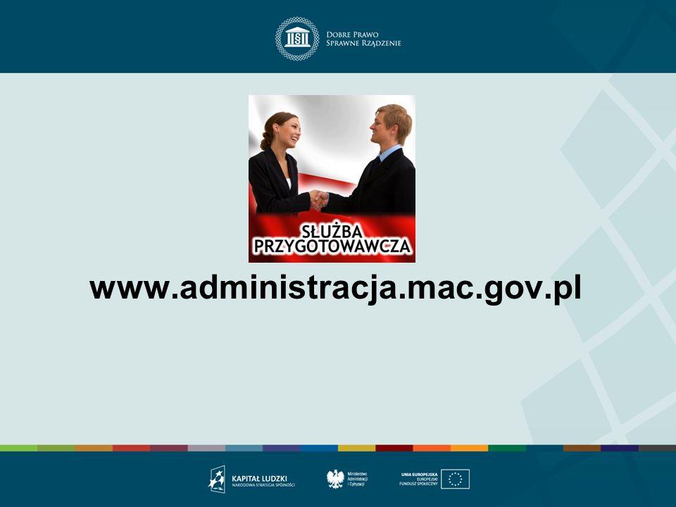 www.administracja.mac.gov.pl
