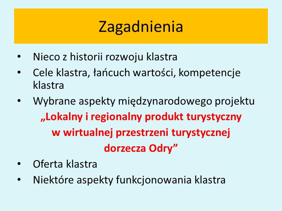 Ogólna konkluzja W dobie zarządzania wieloszczeblowego w polskiej gospodarce okresu przemian klastry mogą stanowić efektywne narzędzie w podnoszeniu konkurencyjności lokalnych i regionalnych produktów turystycznych i okołoturystycznych.