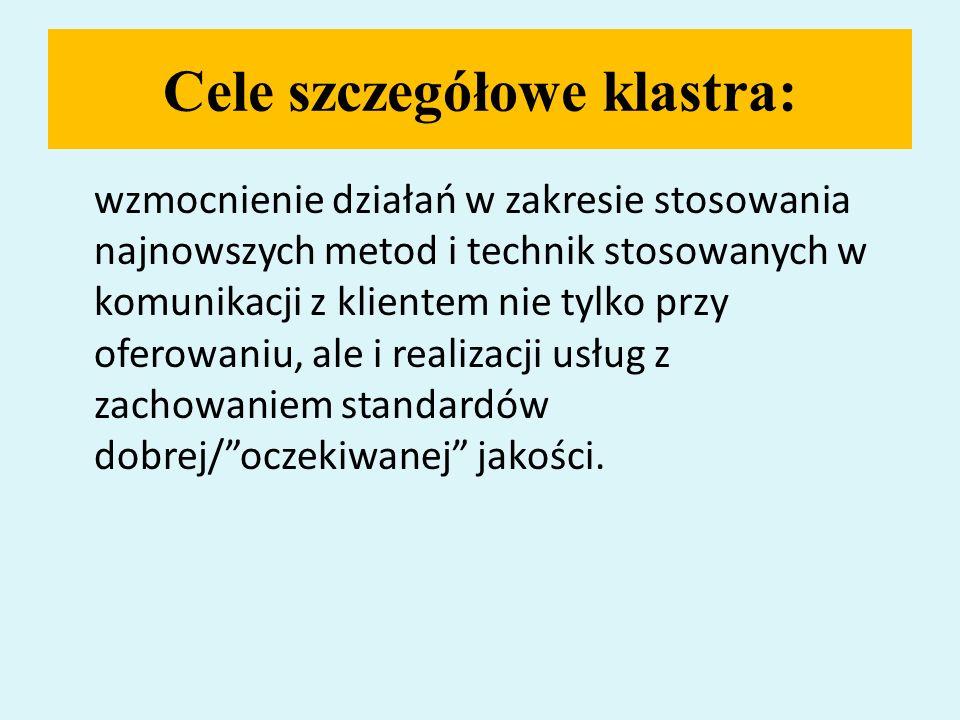 Pobyt polskiego zespołu klastrowego w Niemczech – 13-15.09.2009 Efekty projektu IE