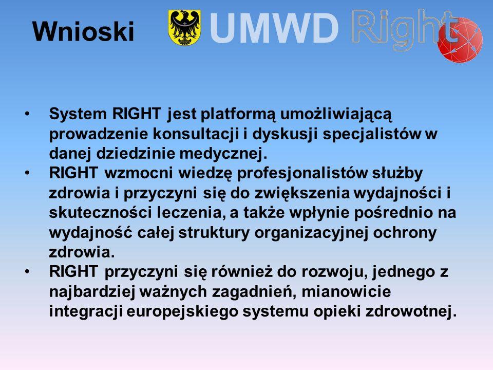 System RIGHT jest platformą umożliwiającą prowadzenie konsultacji i dyskusji specjalistów w danej dziedzinie medycznej. RIGHT wzmocni wiedzę profesjon