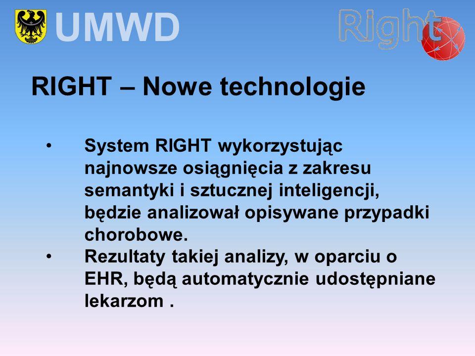 System RIGHT wykorzystując najnowsze osiągnięcia z zakresu semantyki i sztucznej inteligencji, będzie analizował opisywane przypadki chorobowe. Rezult