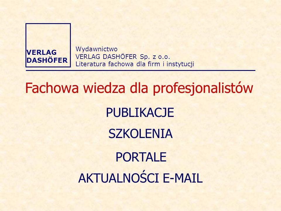 Wydawnictwo VERLAG DASHÖFER Sp.z o.o.