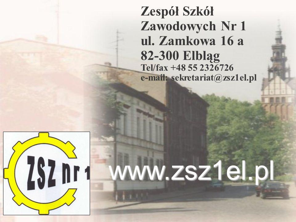 Zespół Szkół Zawodowych Nr 1 ul.