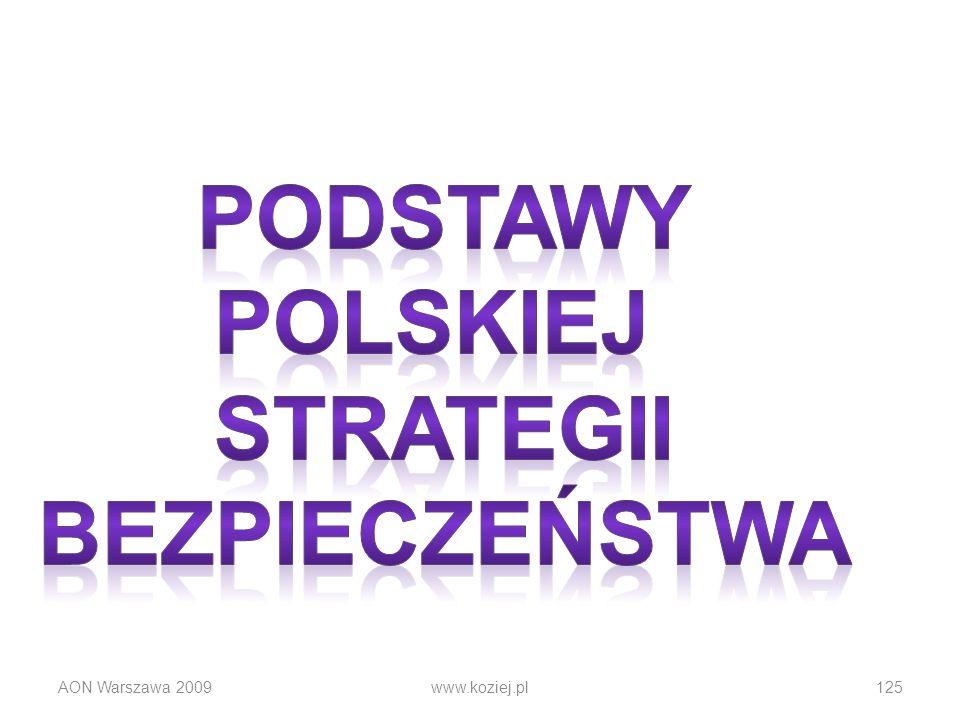 AON Warszawa 2009www.koziej.pl125