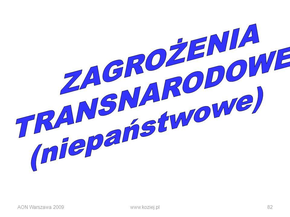AON Warszawa 2009www.koziej.pl82