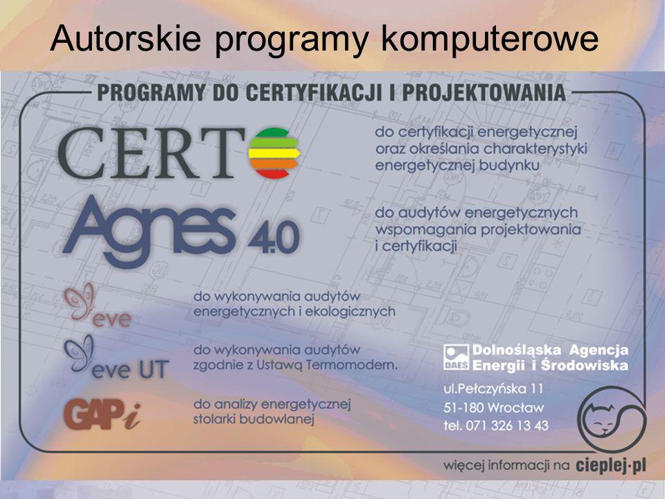 Autorskie programy komputerowe