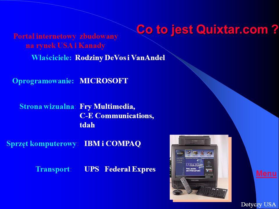 Model Portala Quixtar.com Twoja strona WWW Twoja strona WWW Twój Numer Dostępu (#) Twój Numer Dostępu (#) Produkty i Usługi z wyłącznością Produkty i