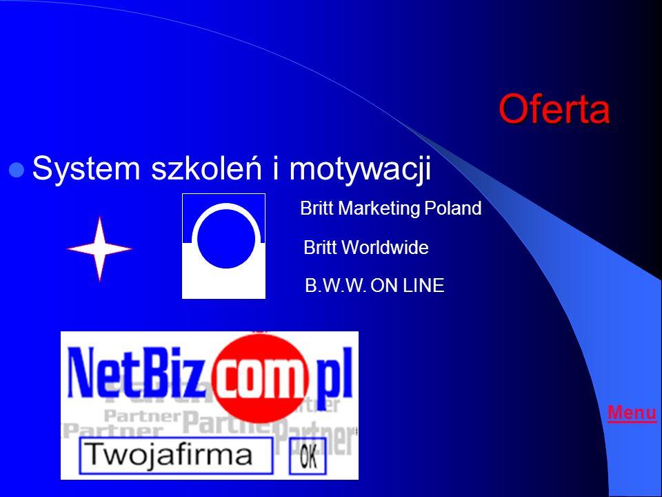 Osoba rekomendująca Dochód / Upust z Sieci Amway BRITT Worldwide Polska Dostawcy produktów i usług o Prowadzisz własną firmę wytwarzając obrót w oparc