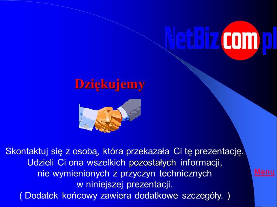 Co zrobić teraz ? Menu Podpisać umowę z Amway Polska sp.z.o.o Zamówić pakiet startowy i pierwsze produkty Wypełnić umowę Partnera NetBiz.com.pl* Wypeł