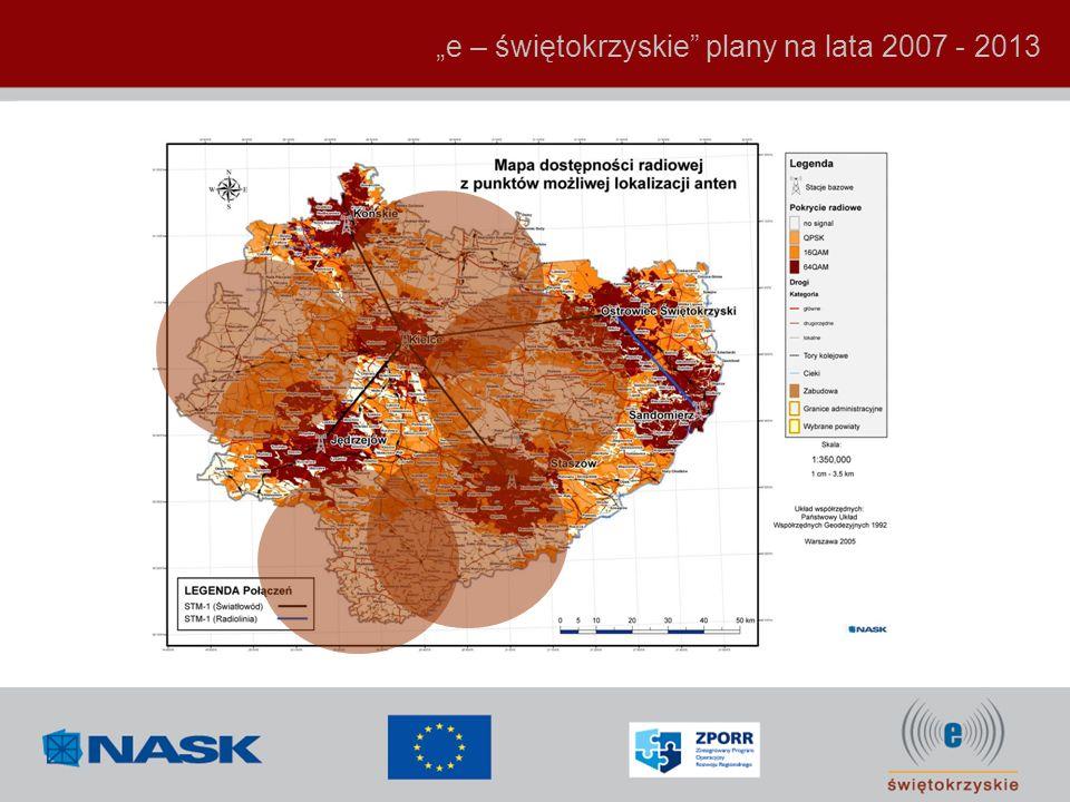 e – świętokrzyskie plany na lata 2007 - 2013