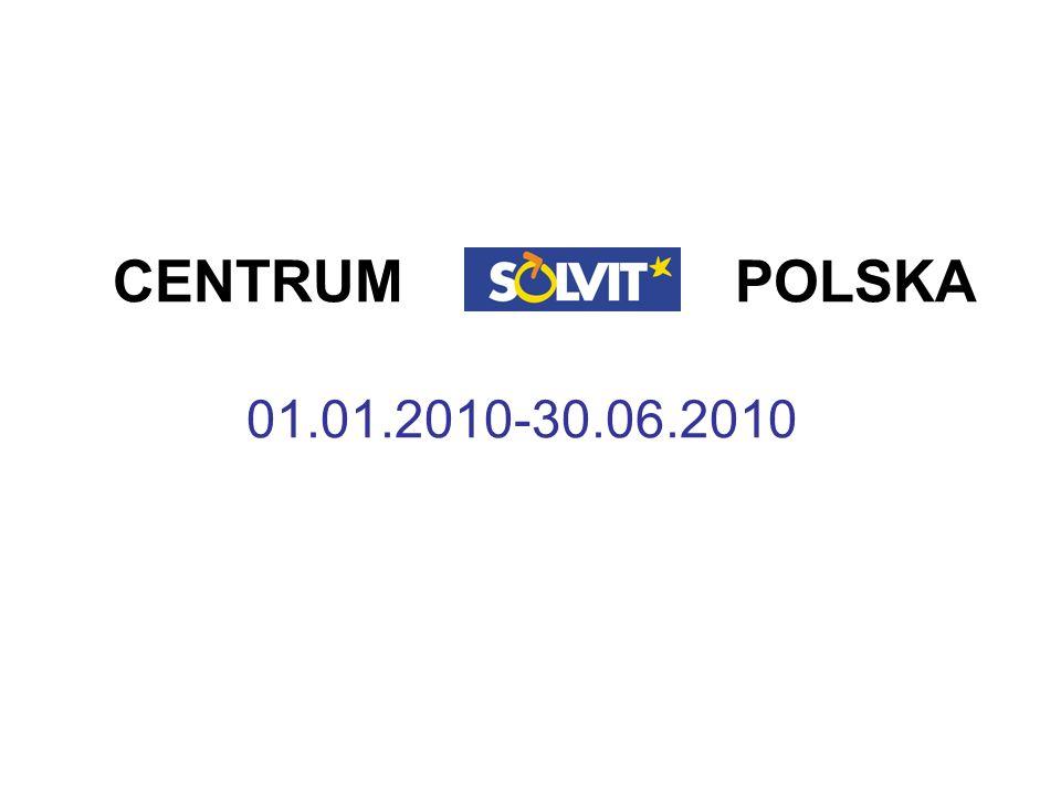 SOLVIT Polska w liczbach w 2004 r.- 78 wniosków w 2005 r.