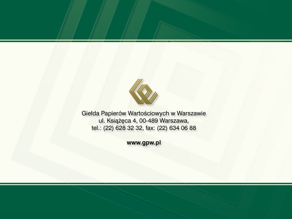 www.gpw.pl 17