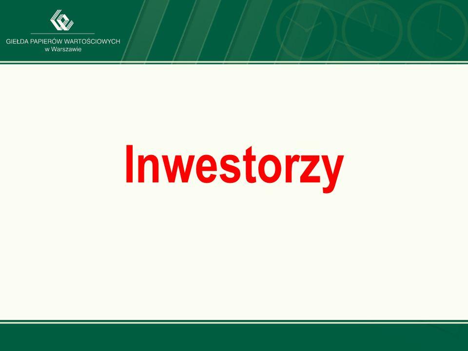 www.gpw.pl Inwestorzy