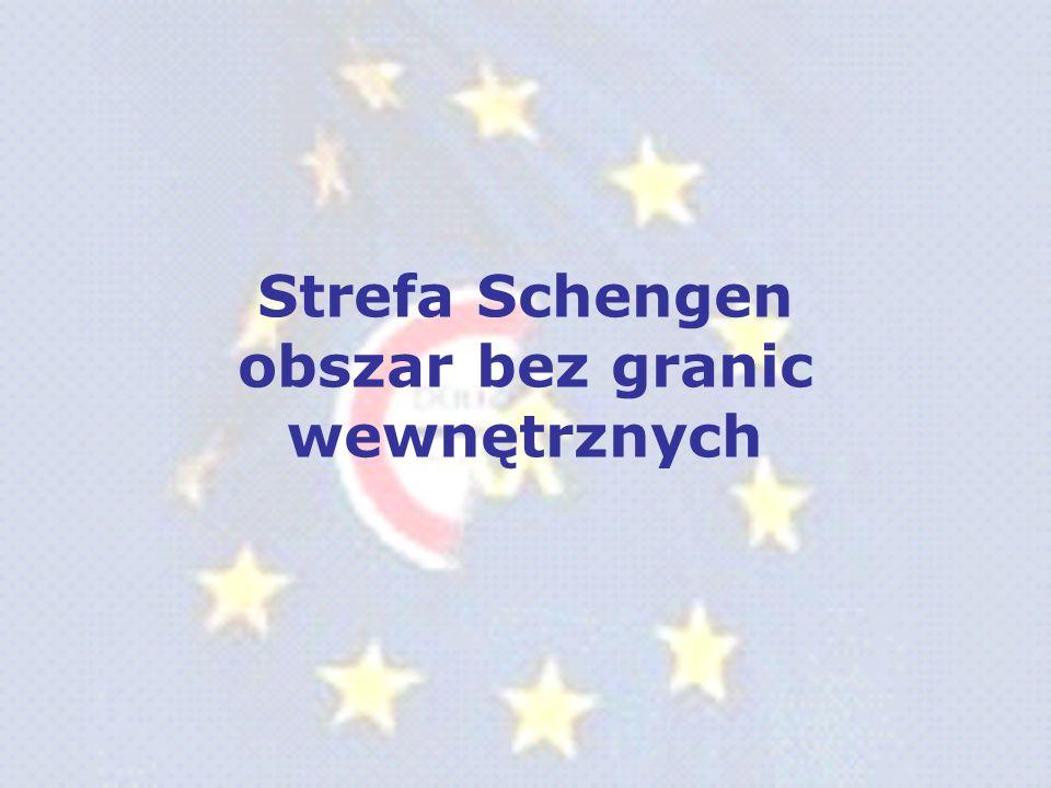 Państwa, których przystąpienie do strefy Schengen planowane jest jesienią 2008r.: Szwajcaria Inni sygnatariusze umowy: Bułgaria Cypr Rumunia Zainteresowani członkostwem Liechtenstein Watykan