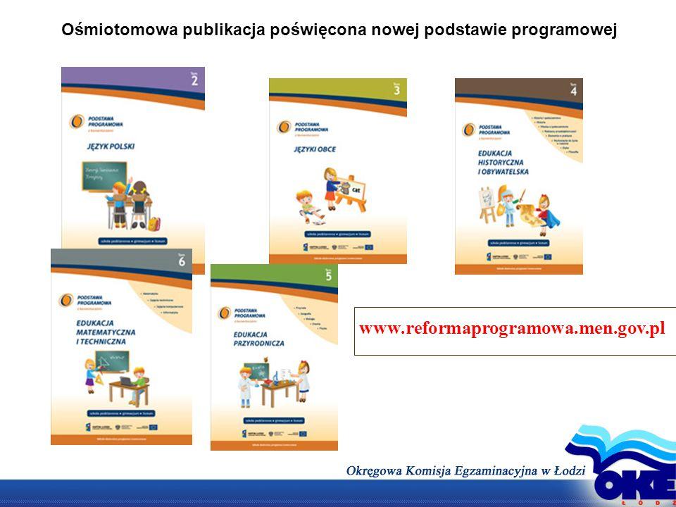 EFEKTY KSZTAŁCENIA (na przykładzie języka polskiego) Cele kształcenia – wymagania ogólne: II.
