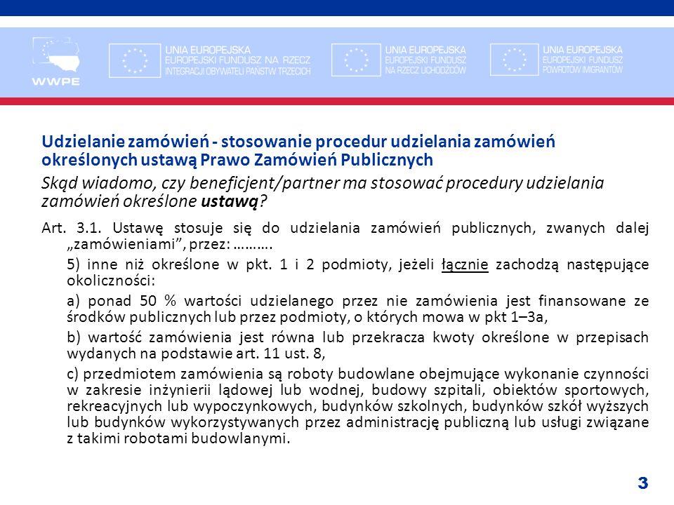 24 Zamówienia publiczne, konflikt interesów.