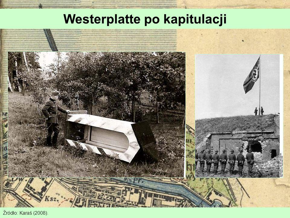 Westerplatte po kapitulacji Źródło: Karaś (2008).