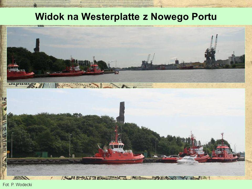Fot. P. Wodecki Widok na Westerplatte z Nowego Portu