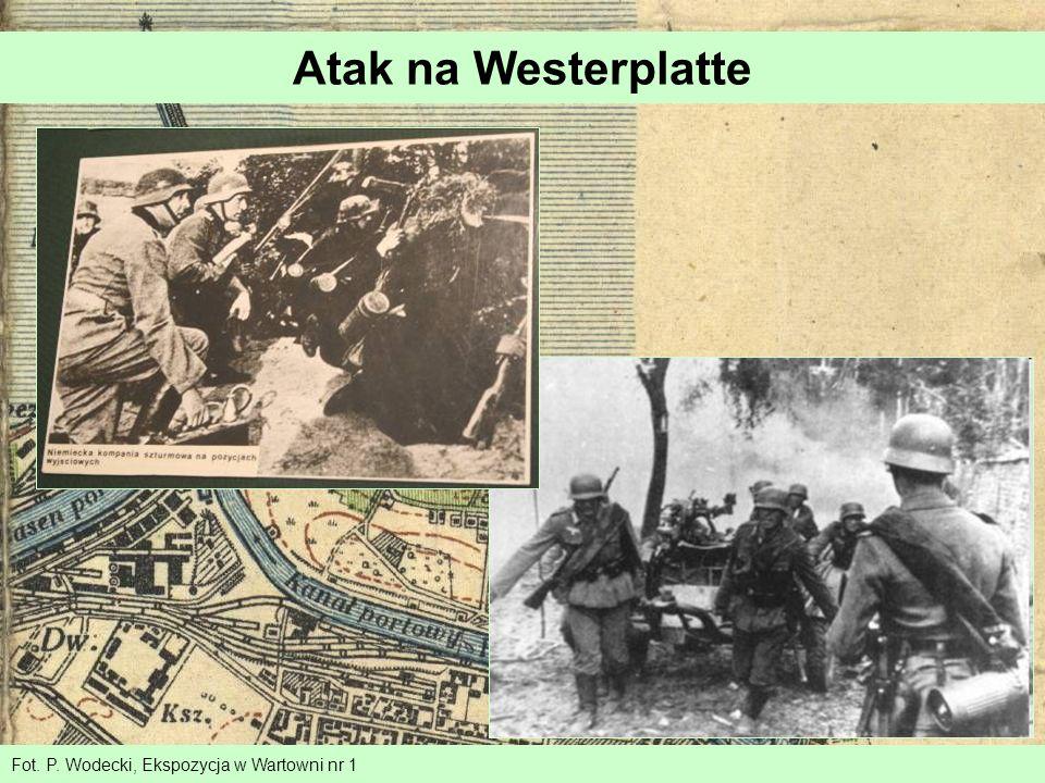 Fot. P. Wodecki, Ekspozycja w Wartowni nr 1 Atak na Westerplatte