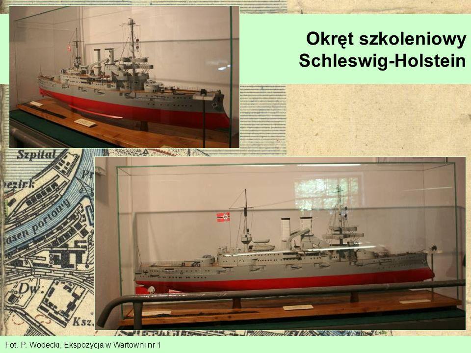 Fot. P. Wodecki, Ekspozycja w Wartowni nr 1 Okręt szkoleniowy Schleswig-Holstein